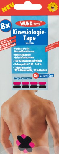 WUNDmed  Kinesiology tape voor rug