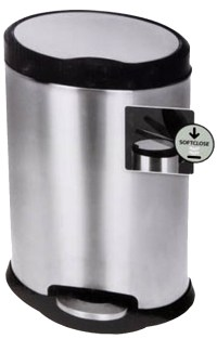 Pedaalemmer 12 liter soft close