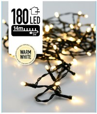 Kerstverlichting 180 LED's 13.5 meter warm wit