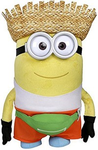 Pluche Knuffel Minions Freedonian Dave 37cm