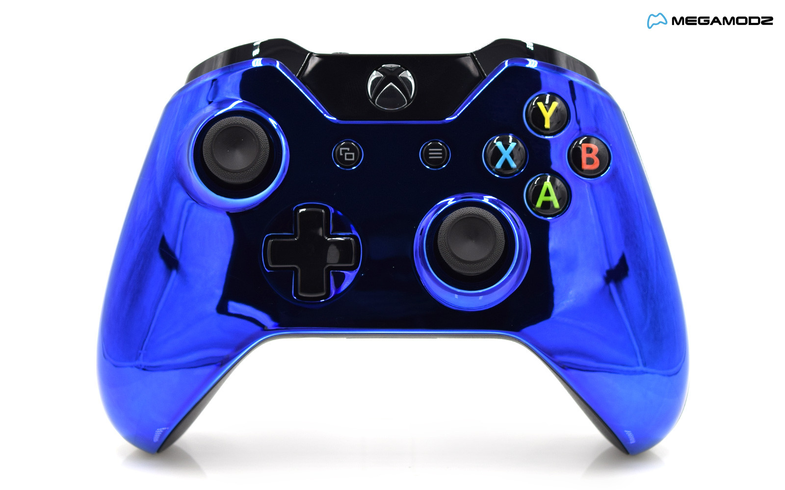 Modded Xbox One Rapid Fire Controller Chrome Blue