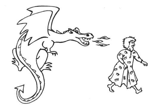 Dragon Dilemma by Emma Laybourn: a Custard Castle story. A