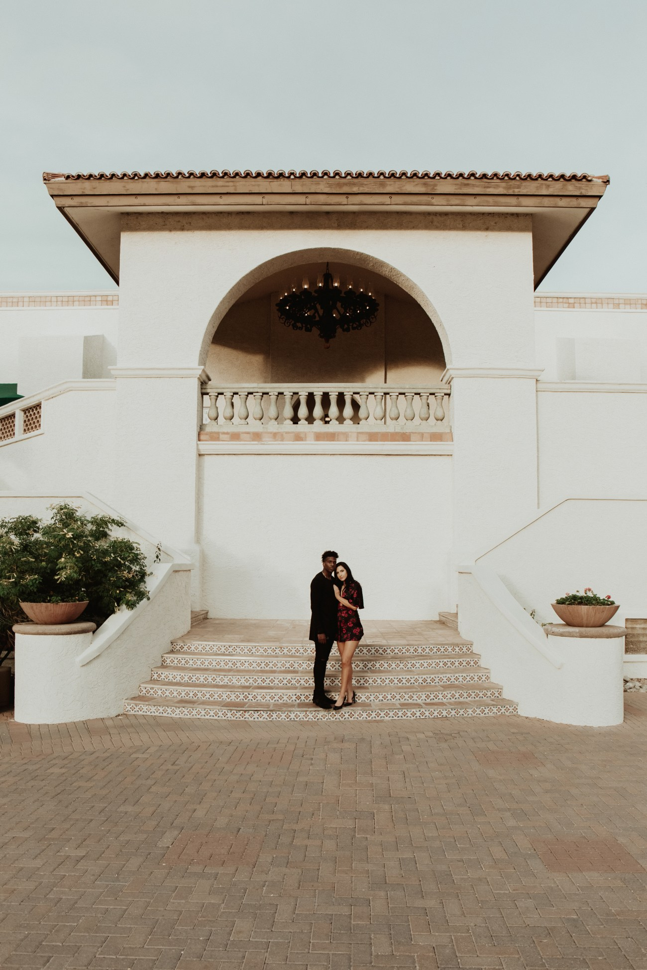 Megan Claire Photography | Arizona Wedding and Engagement Photographer. Spanish architecture inspired couples session @meganclairephoto