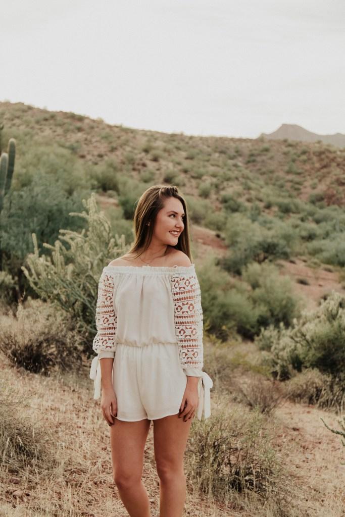 Megan Claire Photography | Arizona Portrait Photographer @meganclairephoto. Arizona desert photoshoot