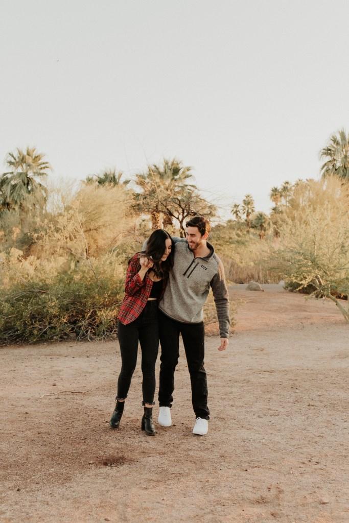 Megan Claire Photography | Arizona Wedding Photographer. Desert couples portrait photoshoot. @meganclairephoto