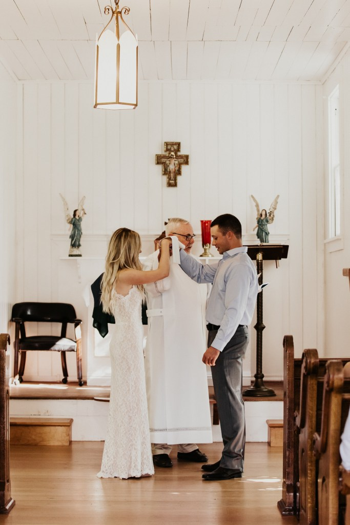 Megan Claire Photography | Northern California Wedding Photographer. Simple elegant catholic chapel wedding @meganclairephoto