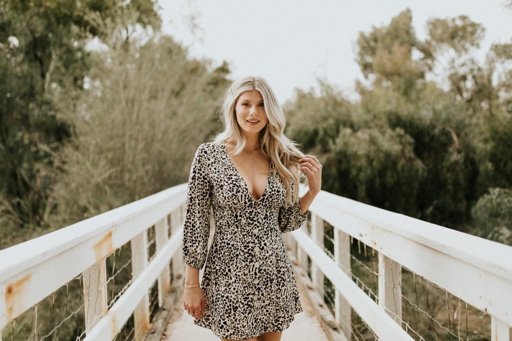 Megan Claire Photography | Phoenix Arizona Portrait Wedding Photographer. Bohemian arboretum fashion portrait photoshoot with social media influencer. @meganclairephoto