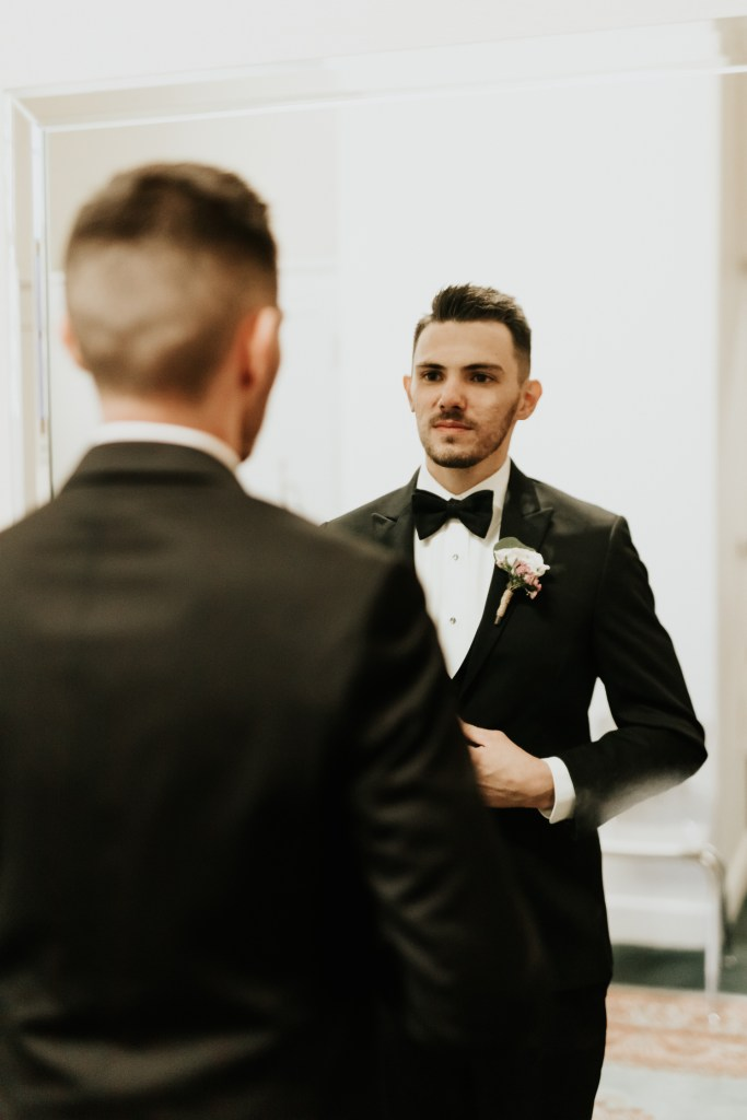 Megan Claire Photography | Arizona Wedding Photographer. Groom getting ready photos