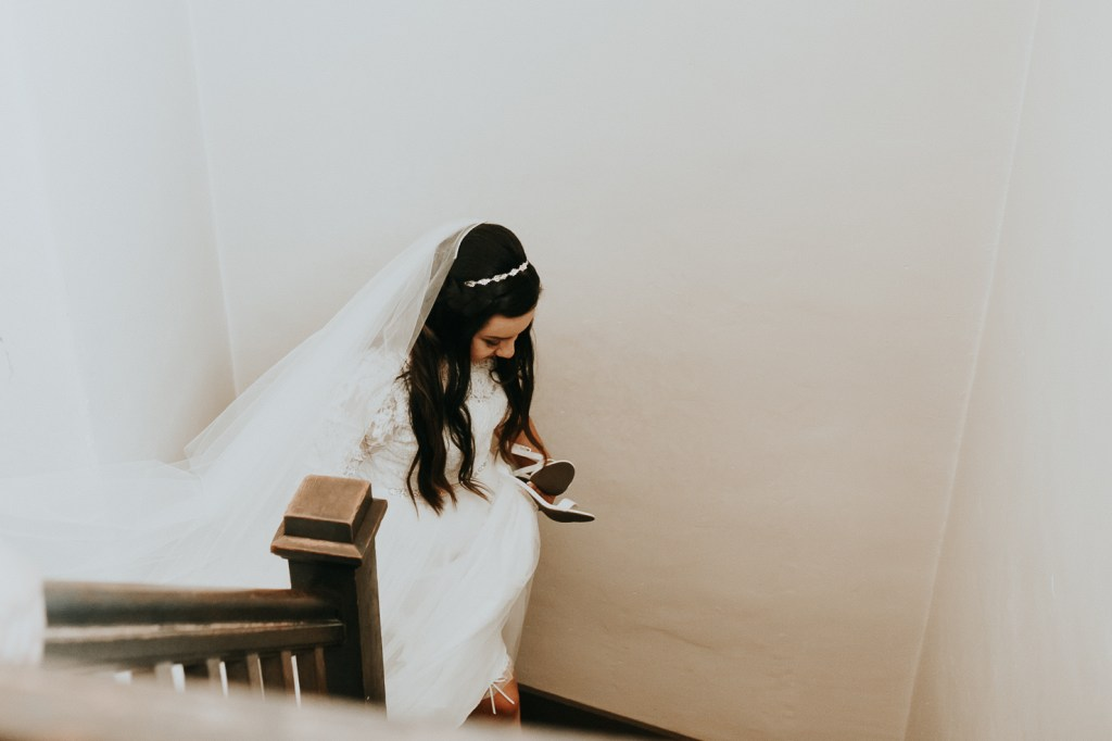 Megan Claire Photography | Arizona Wedding Photographer. Bride getting ready