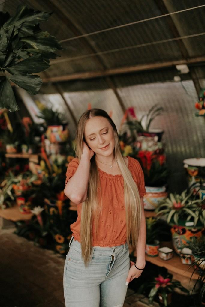 Megan Claire Photography | Phoenix Arizona Wedding and Engagement Photographer. Arizona State University grad photoshoot. Graduation photos at Berridge Nursery in Scottsdale, Arizona @meganclairephoto