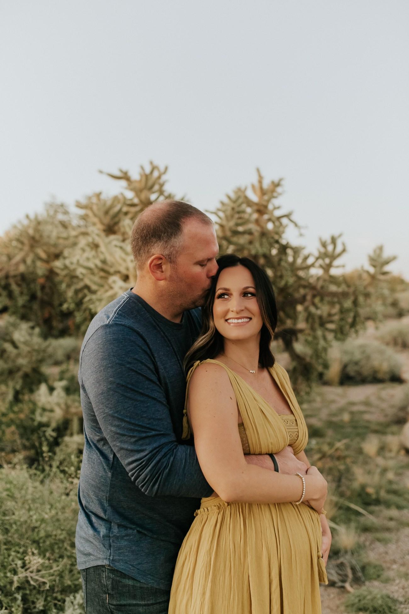 Megan Claire Photography | Phoenix Arizona Maternity and Newborn Photographer. Arizona desert maternity session @meganclairephoto