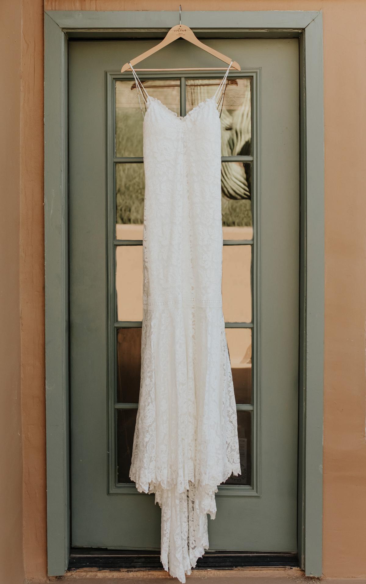 Megan Claire Photography | Boho Desert Wedding details at Superstition Mountains