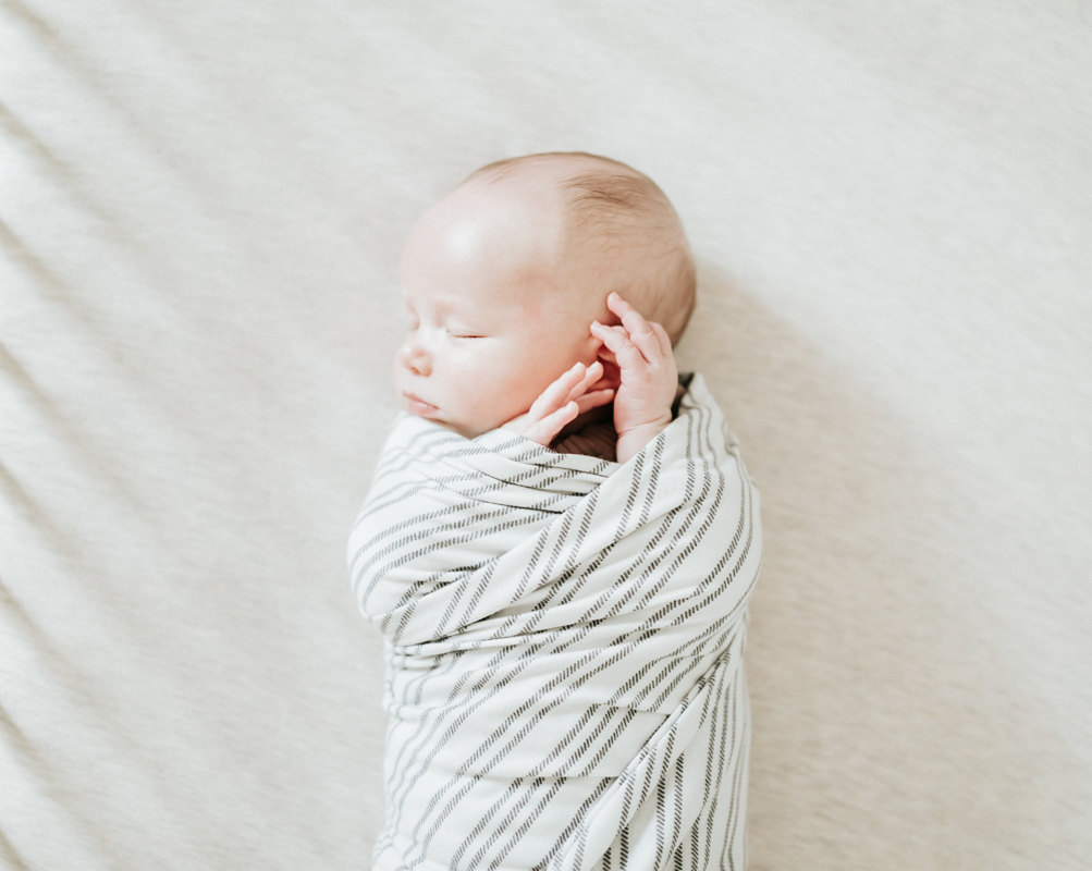 Megan Claire Photography | Cozy In Home Newborn Session. Arizona Newborn Photographer