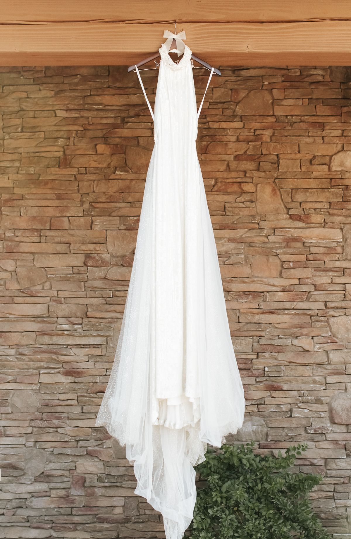 Megan Claire Photography | Arizona Wedding Photographer.  Elegant Scottsdale Backyard Wedding Dress