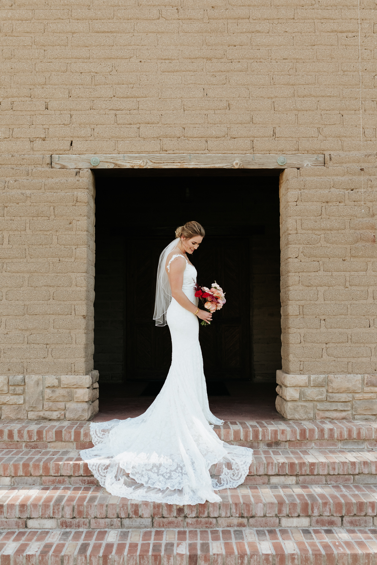 Megan Claire Photography | Arizona Elopement and Intimate Wedding Photographer.  Faith filled elopement at St. Ann's Chapel in Tucson, Arizona