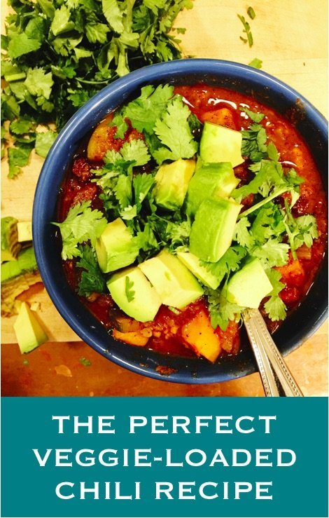 the perfect veggie-loaded chili recipe