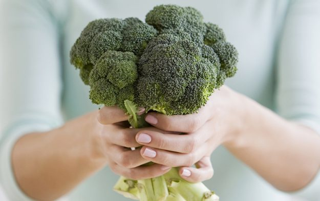 blended broccoli soup