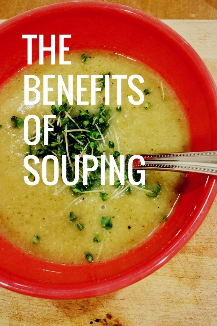 The Benefits of Souping - meganadamsbrown.com - how to use souping to give your digestive system a break, cleanse and detoxify and have more energy