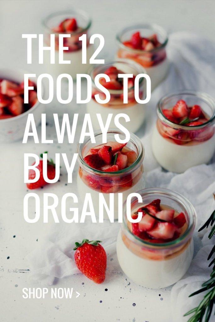 The 12 foods to always buy organic - meganadamsbrown.com