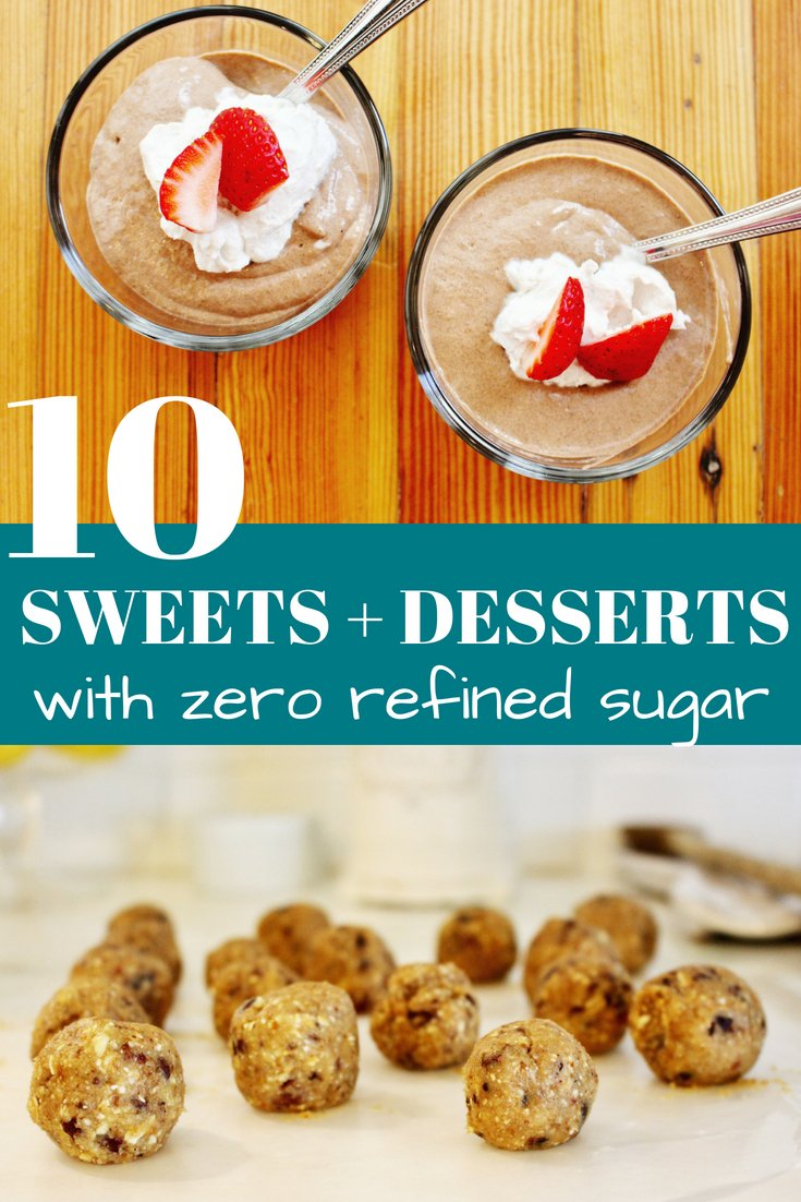 10 sweets and desserts with zero refined sugar