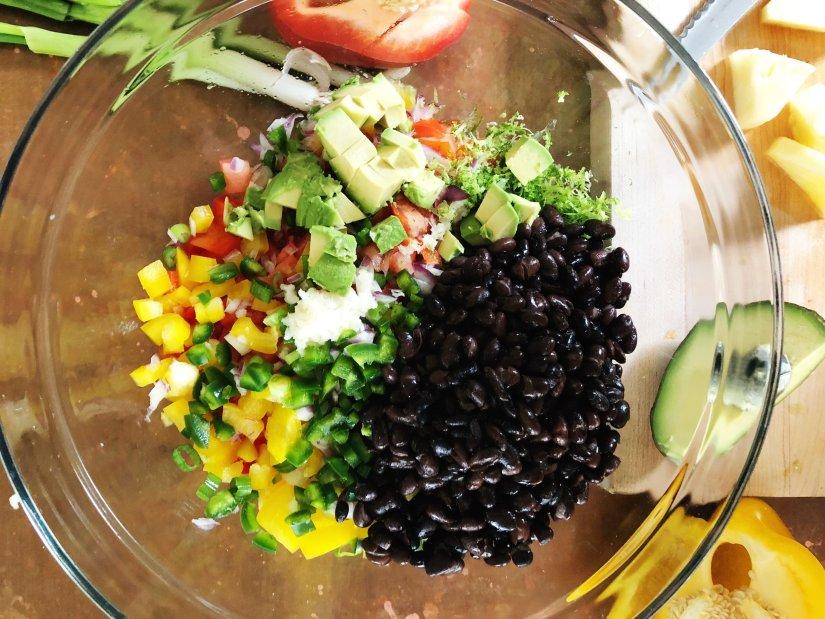 black bean salsa