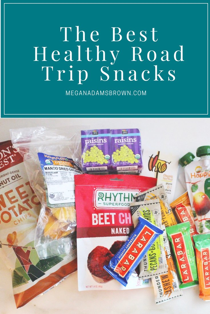 The Best Healthy Road Trip Snacks