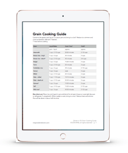grain guide