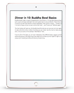 buddha bowl guide preview