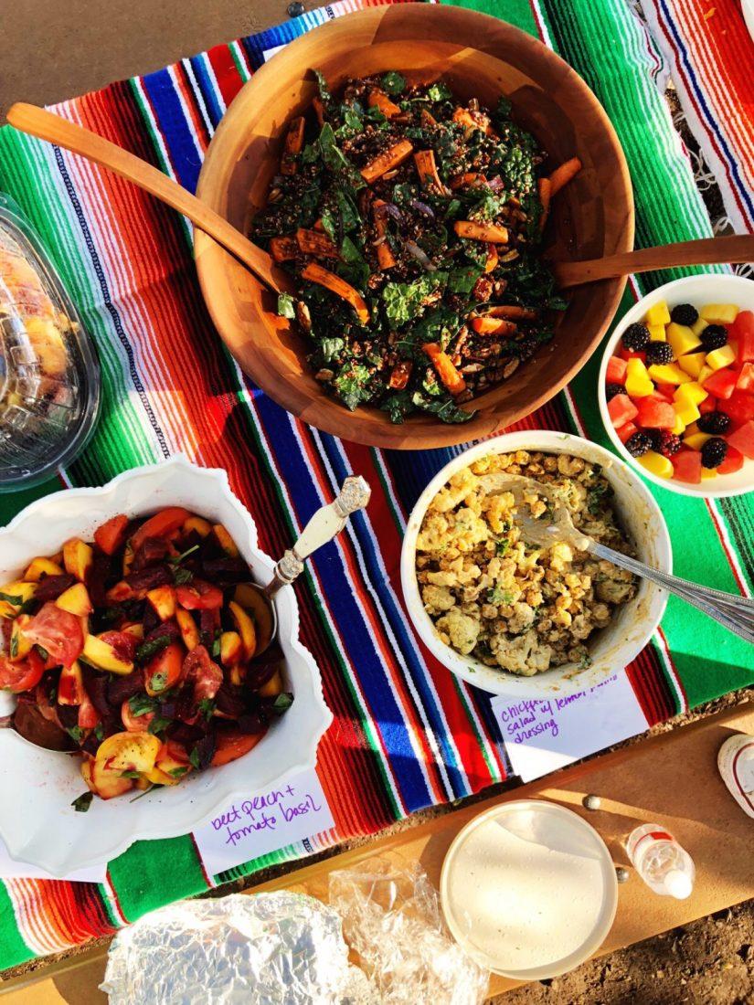 quinoa and kale salad - meganadamsbrown.com