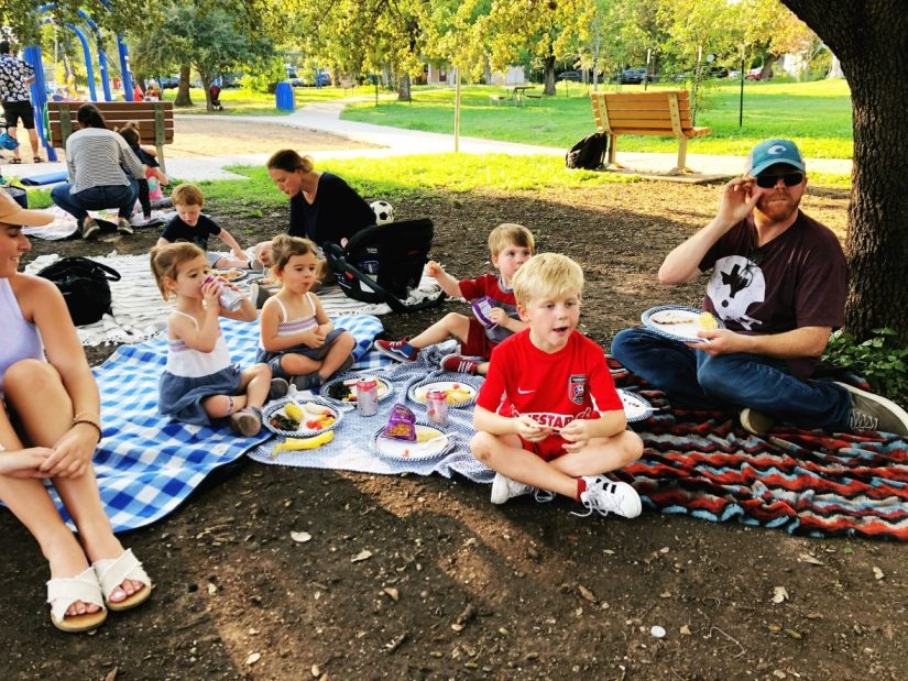 potluck in the park
