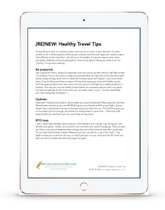 healthy travel tips preview