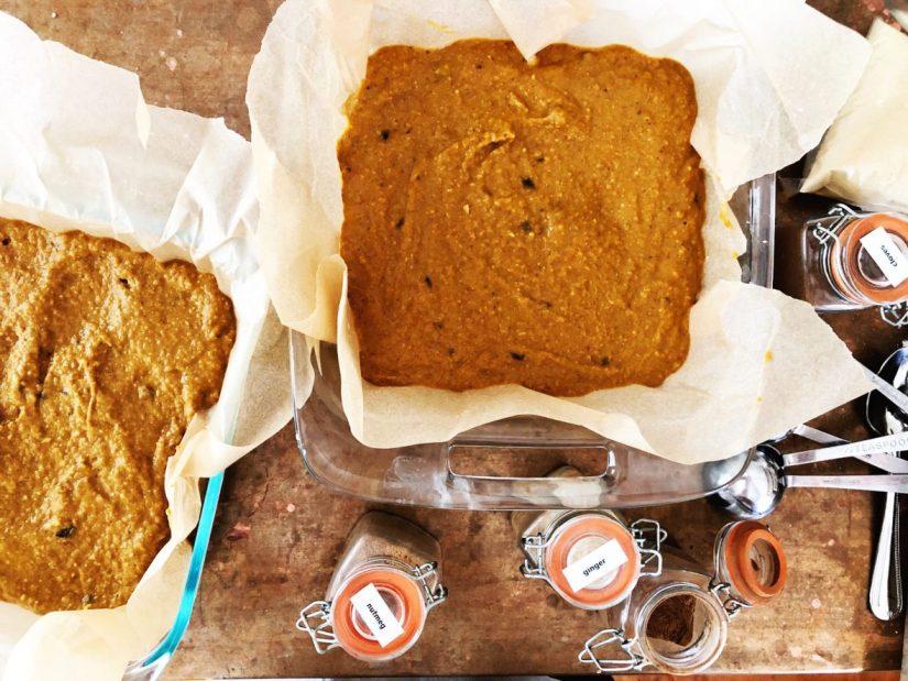 gluten-free pumpkin pie bars - meganadamsbrown.com