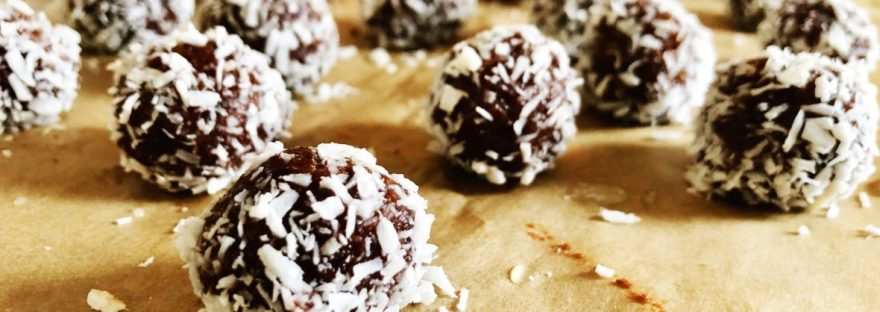 healthy brownie bites