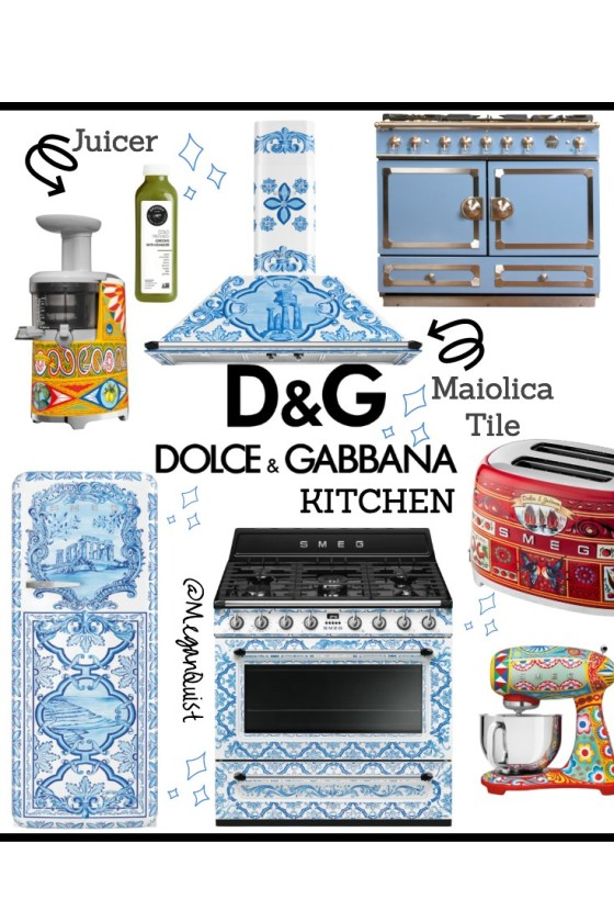 Yes a Dolce & Gabbana Kitchen is Possible | Maiolica Patterns