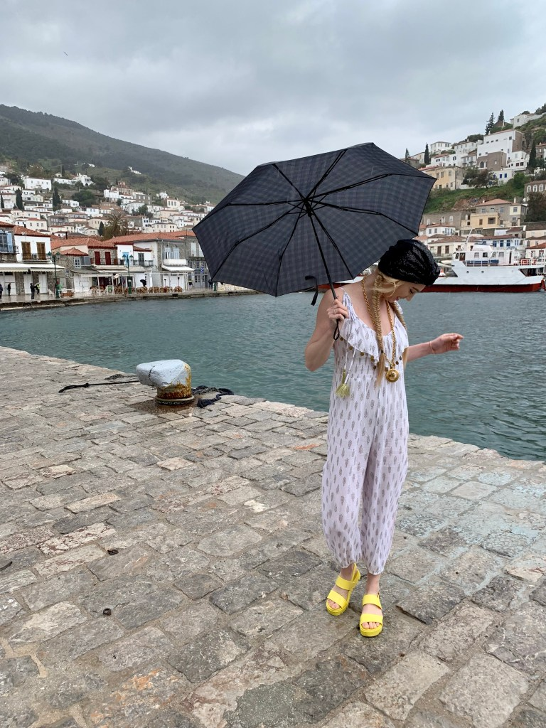 What I Wore in Greece | Boating Through the Sardonic Islands