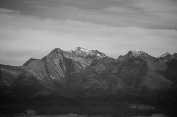 Rocky Mountains in October