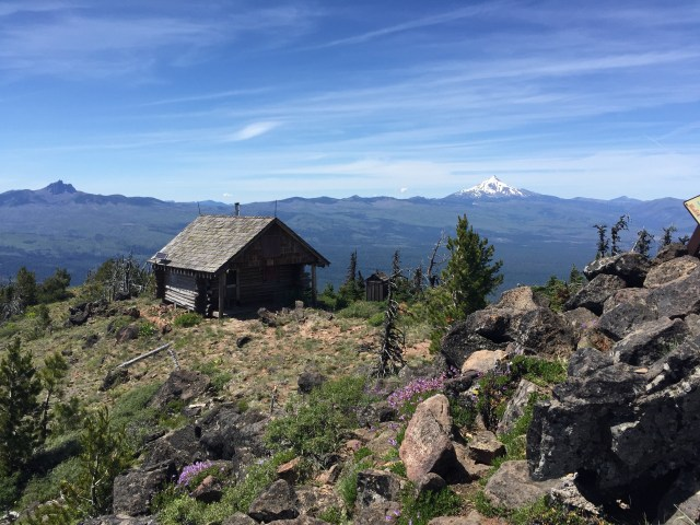 US Forest Service-cabin-Black Butte, Oregon