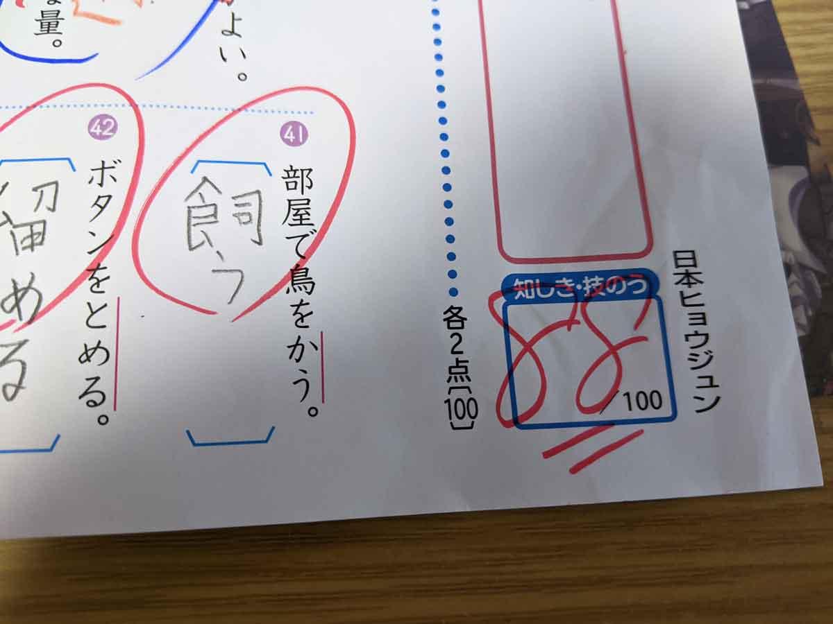 漢字50問テスト