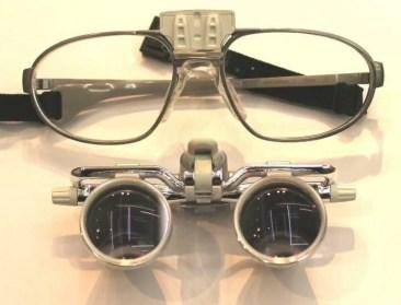 ルーペとメガネは分離できる構造1