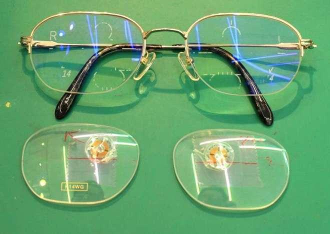 白内障術後 遠近両用メガネ