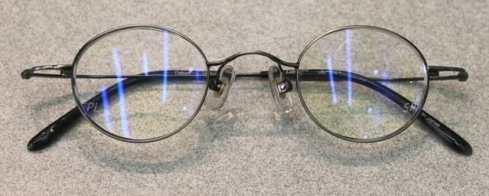 仕上がった眼鏡