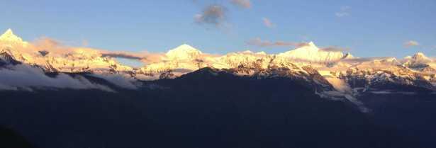チベット 梅里雪山
