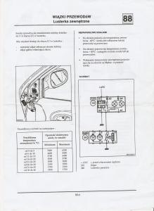 [Megane I phI] Wymiana czujnika temperatury zewnętrznej