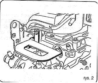 Renault Scenic 1.6 16V Rozrząd Schemat