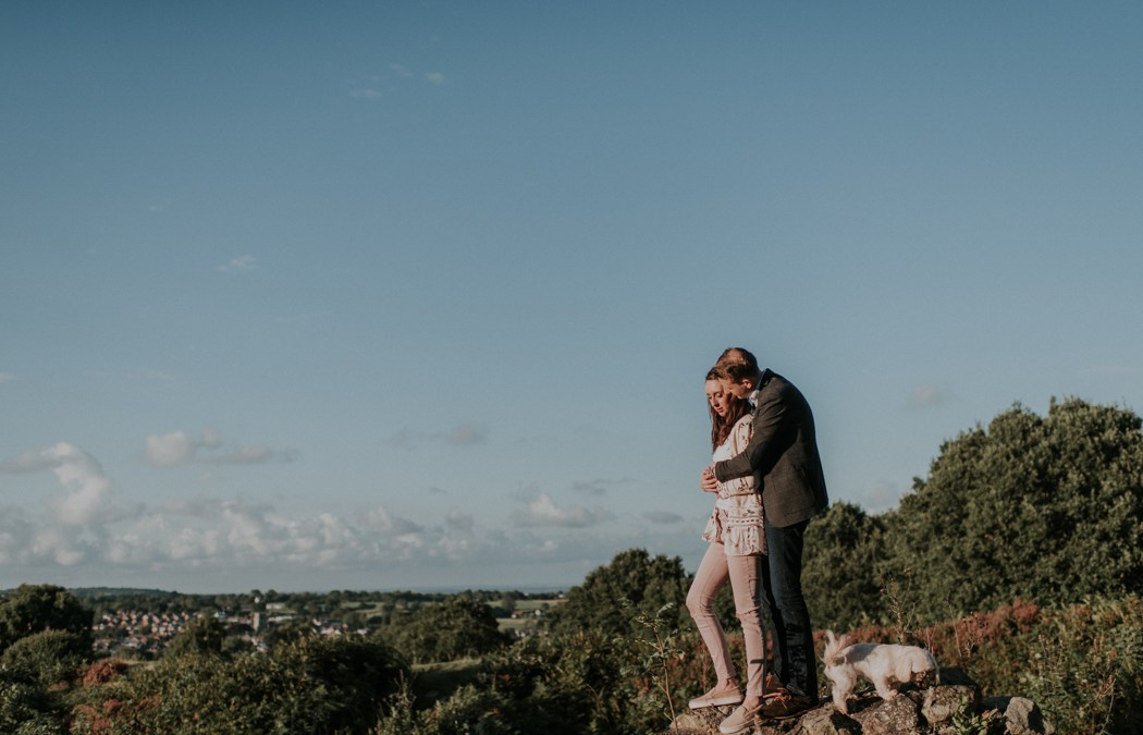 FUN AND CREATIVE COUPLES PHOTOGRAPHY: WALES – HANNAH AND IAN