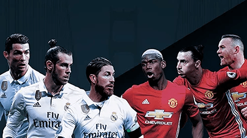 Real Madrid battle Man United in ICC