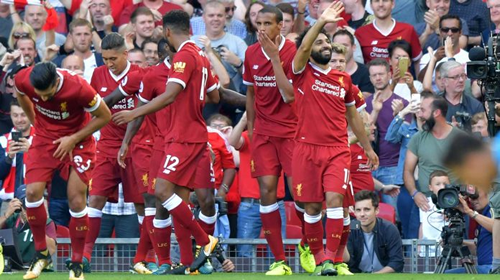 Liverpool thrash unimpressive Arsenal 4-0 at home