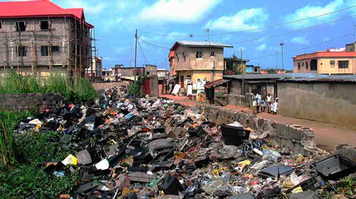 Lagos clears 12,600 tons of waste, moves against dump sites