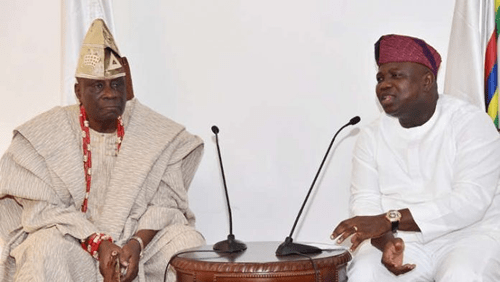Ambode is a good person, no evil will befall him, says oba of Lagos