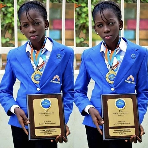 Meet 'Special' Nigerian Girl With An 'Electric Brain' (Photo)